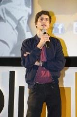 il regista de Le Creature del Vesuvio Martin Prynoth (foto di Marco Alessi)