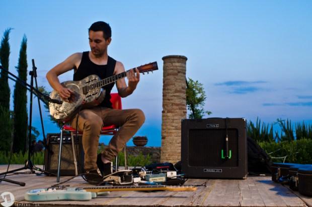 Adriano Viterbini al Vasto Siren Festival 2014, Seppino Di Trana