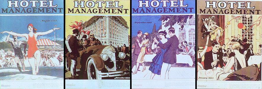 Copertine di Hotel Management, Edward Hopper, varie date