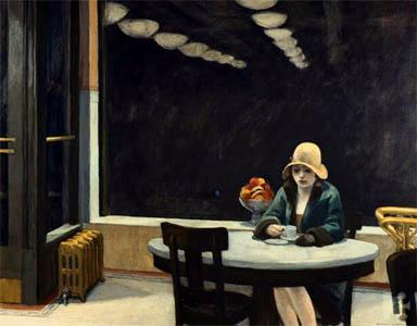 Automat, Edward Hopper, 1927