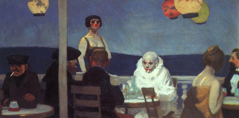 Soir Bleu, Edward Hopper, 1914 - museumsyndicate.com