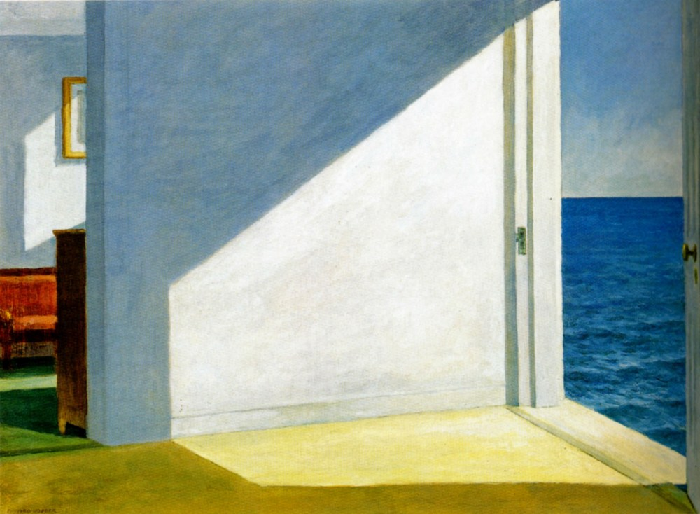Rooms by the sea, Edward Hopper, 1951