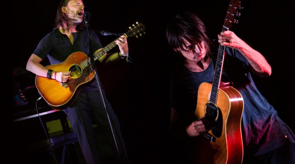 Thom Yorke, Jonny Greenwood - Sferisterio Macerata