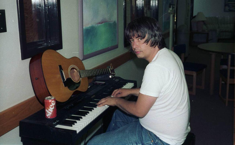 Daniel Johnston - piano & guitar