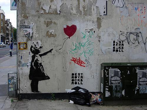 Ballon Girl - Banksy