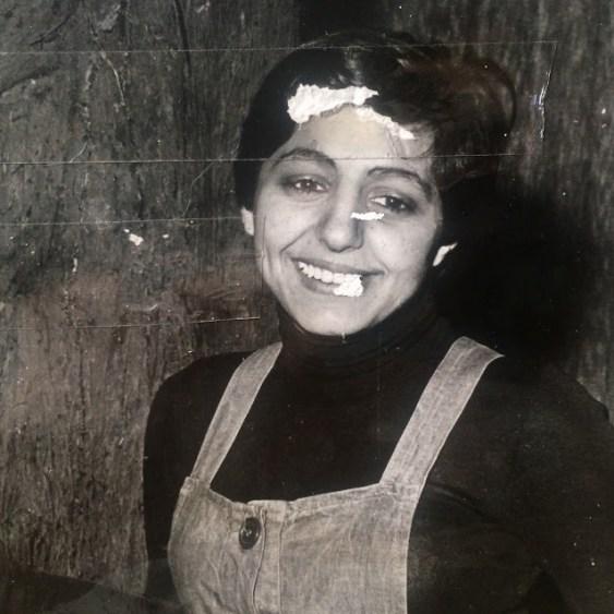In foto la madre di Claudia Durastanti