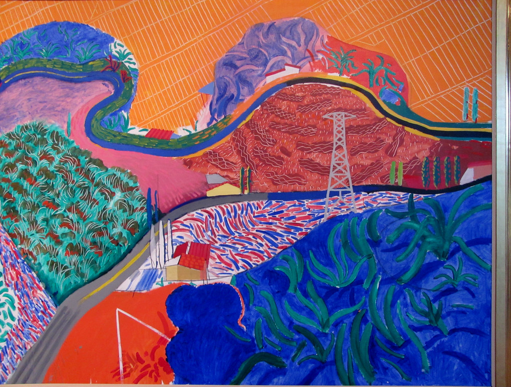 David Hockney - Mulholland Drive: The Road to the Studio