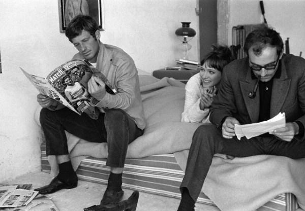 Karina, Godard, Belmondo