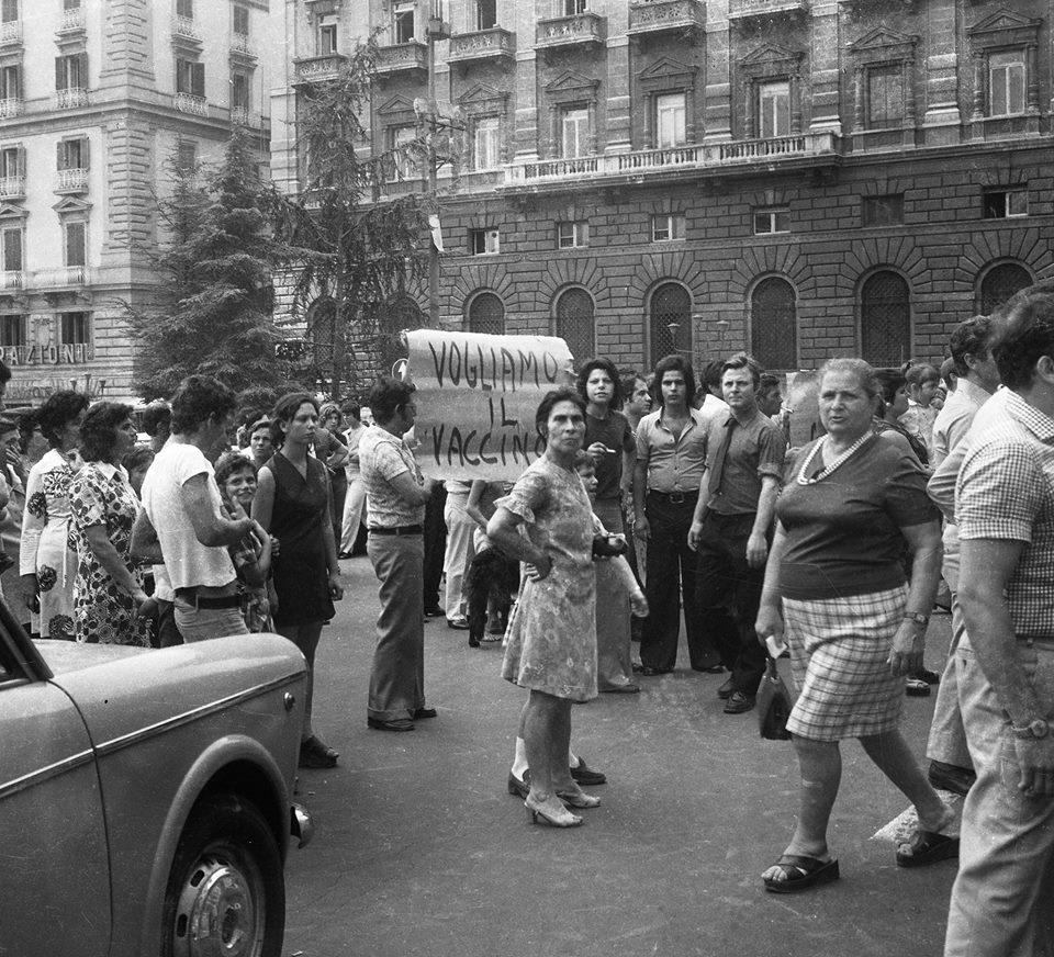 Proteste_per_l'epidemia_di_colera_a_Napoli_del_1973