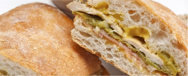 Super Sandwiches for Game Day-Chicken & Prosciutto-link