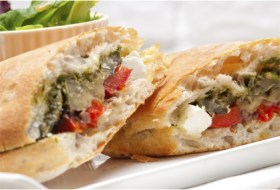 Super Sandwiches for Game Day-Vegetable & Feta