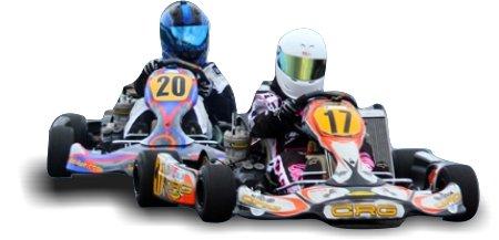 Lindo's Karting Race Day-karts