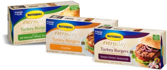 Butterball Turkey Burgers-product