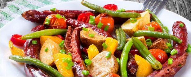 Simple Summer Sausage Bake-link
