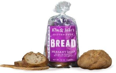 Kim & Jake's Gluten Free-bread
