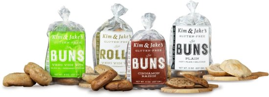 Kim & Jake's Gluten Free-buns