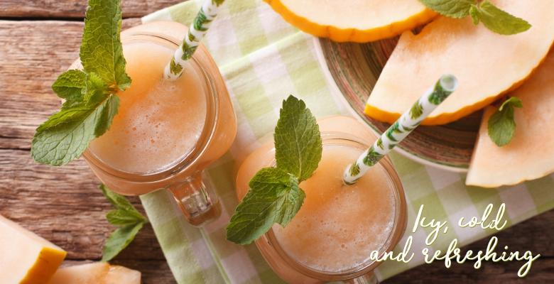 Cantaloupe Mint Smoothie-main
