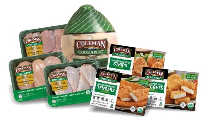 COLEMAN CHICKEN-Monthly OCT 2017-products