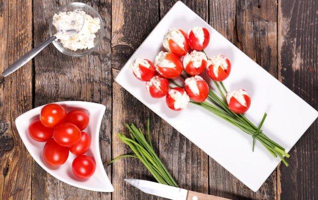 Tomato Tulip Appetizer