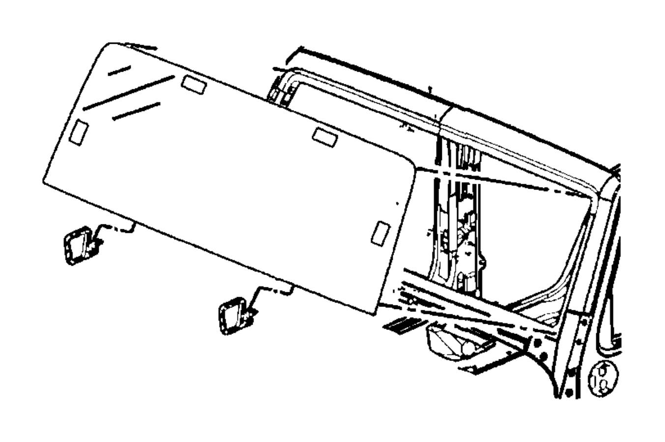 Jeep Wrangler Windshield Glass Jeep Front Fca Body