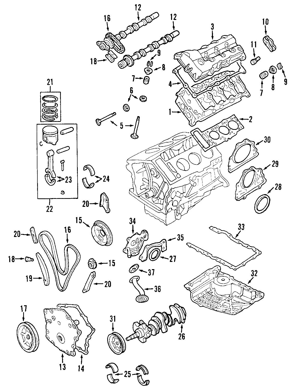 Dodge Intrepid Crankshaft Gear Timing Sprocket Engine