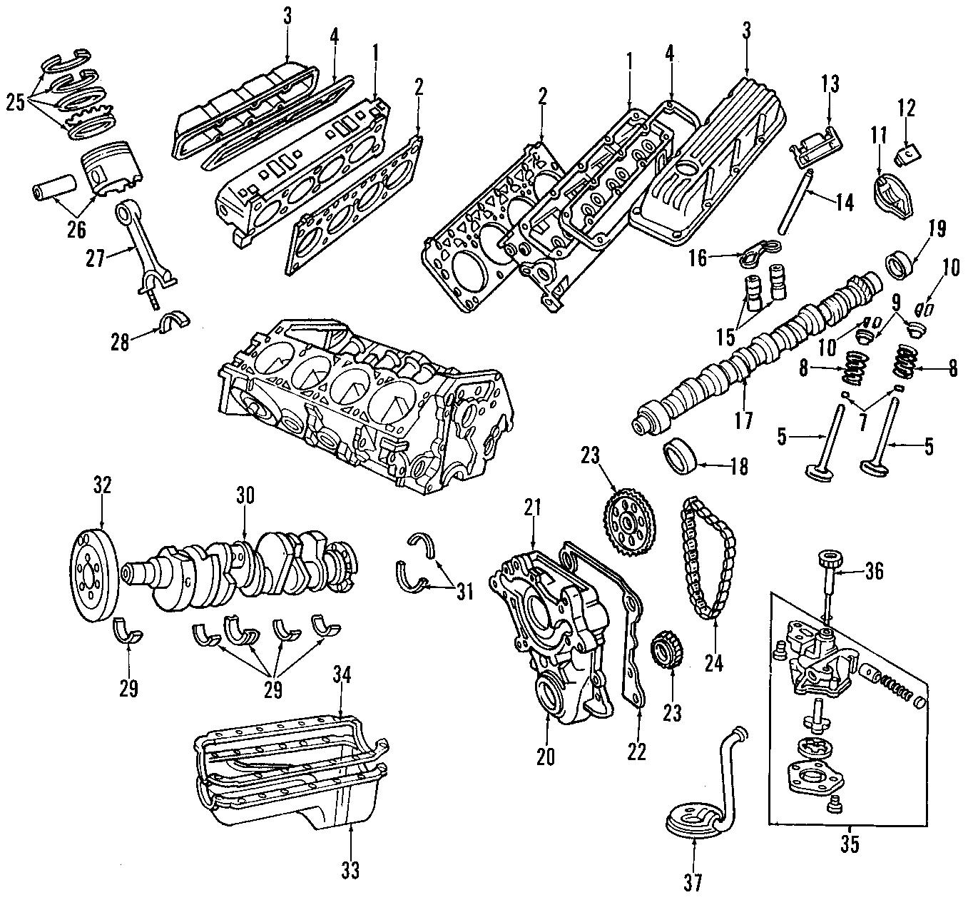 Dodge Dakota Insulator Mount Front 8 Cylinder