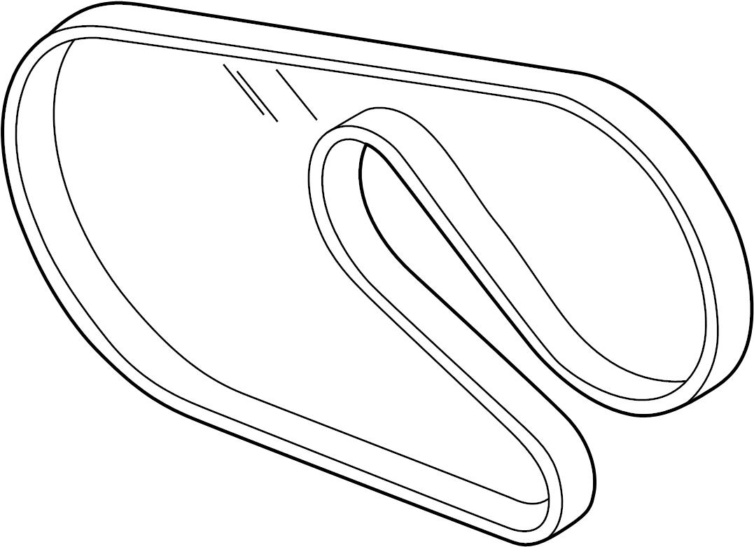 Chrysler Concorde Drive Belt Serpentine Belt Liter