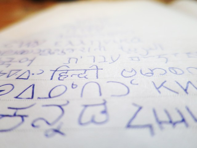 different language scripts writing systems alphabets lindsay does languages blog