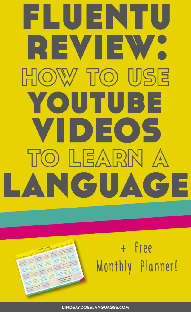 A FluentU review about how to use YouTube videos for language learning + an interview with the founder. Click through to get your bonus FluentU Planner! >>