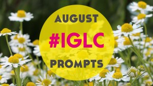 #IGLC August Instagram Language Challenge Prompts