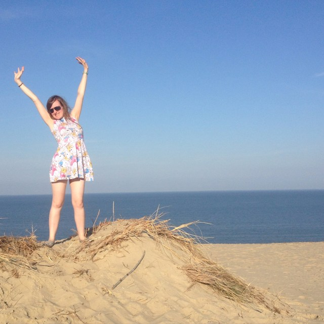 Maximize Your Month September 2015 linkup Lindsay Does Languages blog Curonian Spit Happy Summer!