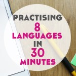 Practising 8 languages in 30 minutes with Tandem