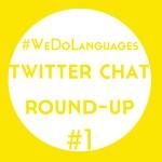 #WeDoLanguages Twitter Chat Round-Up: Language Goals for 2016