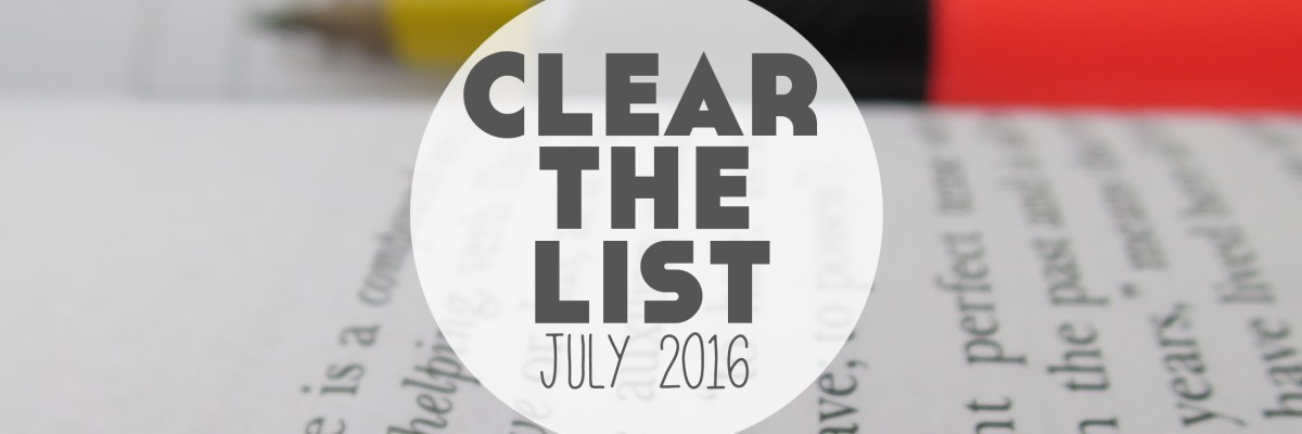 Clear The List is your monthly chance to check in on your language learning and life goals. Click through to read mine for July 2016 and download your free planner! >>