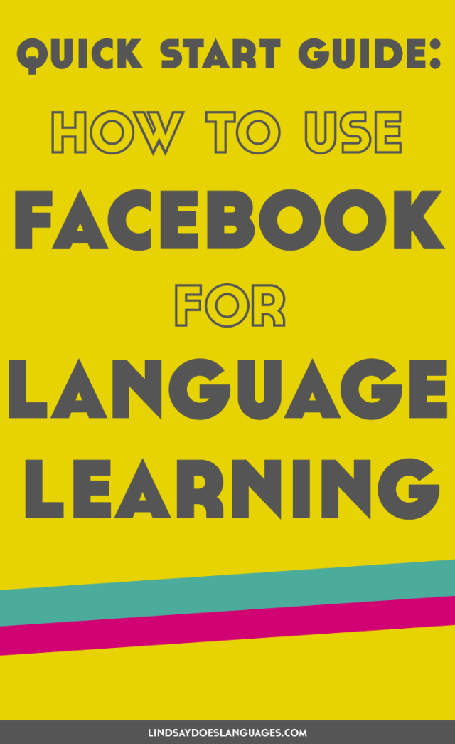 Social media is a great tool for languages. But how can you use Facebook for language learning? Click through + find out how to learn languages with Facebook.
