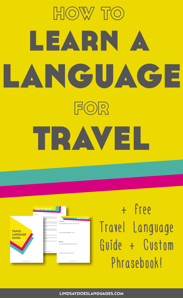 When you want to learn a language for holidays and travel, there's a different approach you can take. And the good news? It's a lot easier than you think...