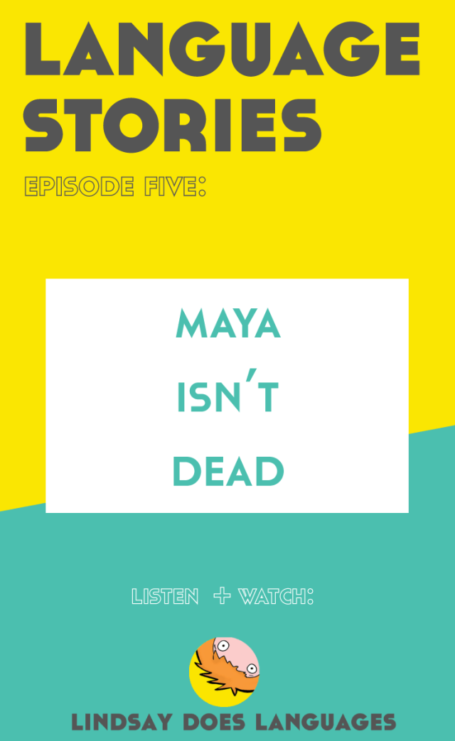 """""""Is Maya dead?"""" """"Are the Mayans gone?"""" The answer is no. Mayans still live in Mexico and Central America. In this episode of Language Stories, we meet speakers of Yucatec Maya. Click through to listen + watch!"""