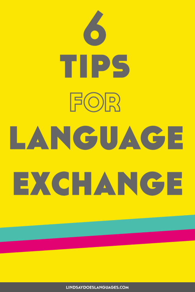 Want successful and productive language exchange sessions? Here's 6 tips for language exchange to help you make the most of it. ➔