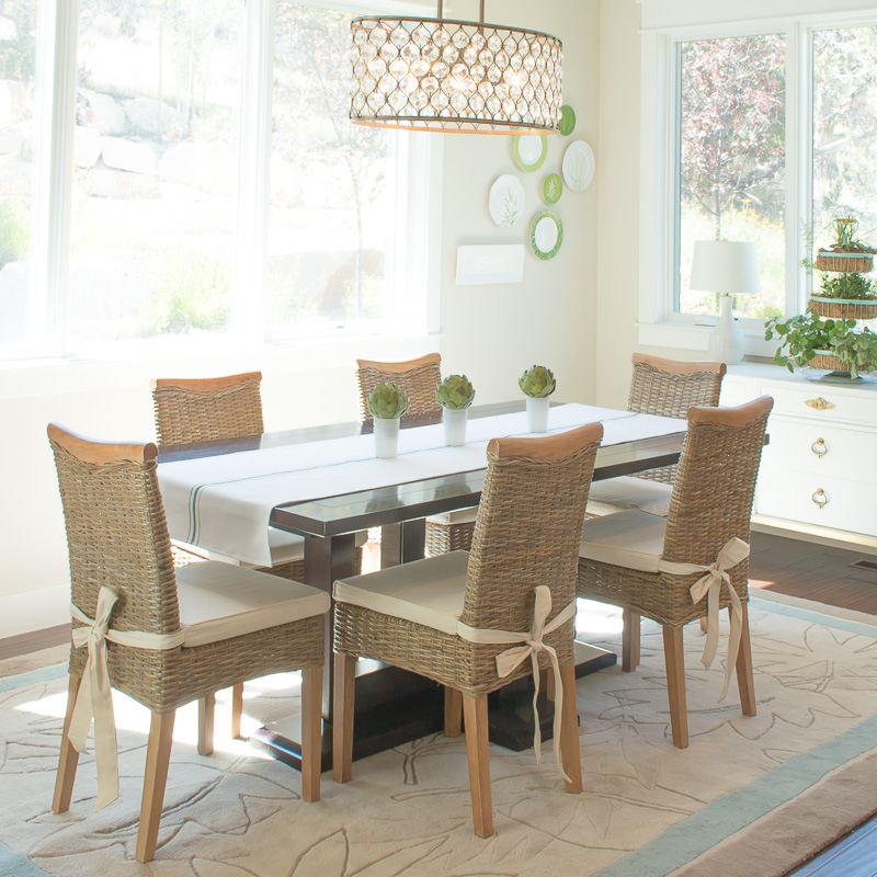 dining room rattan chairs-3157