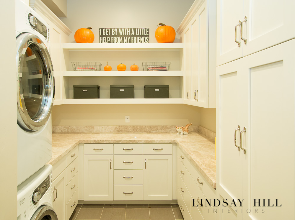 fall laundry room