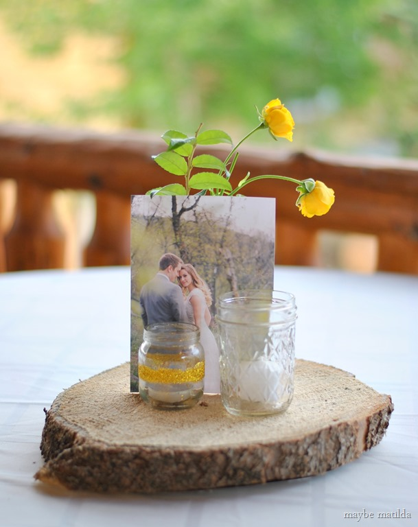 decorating rustic summer wedding reception