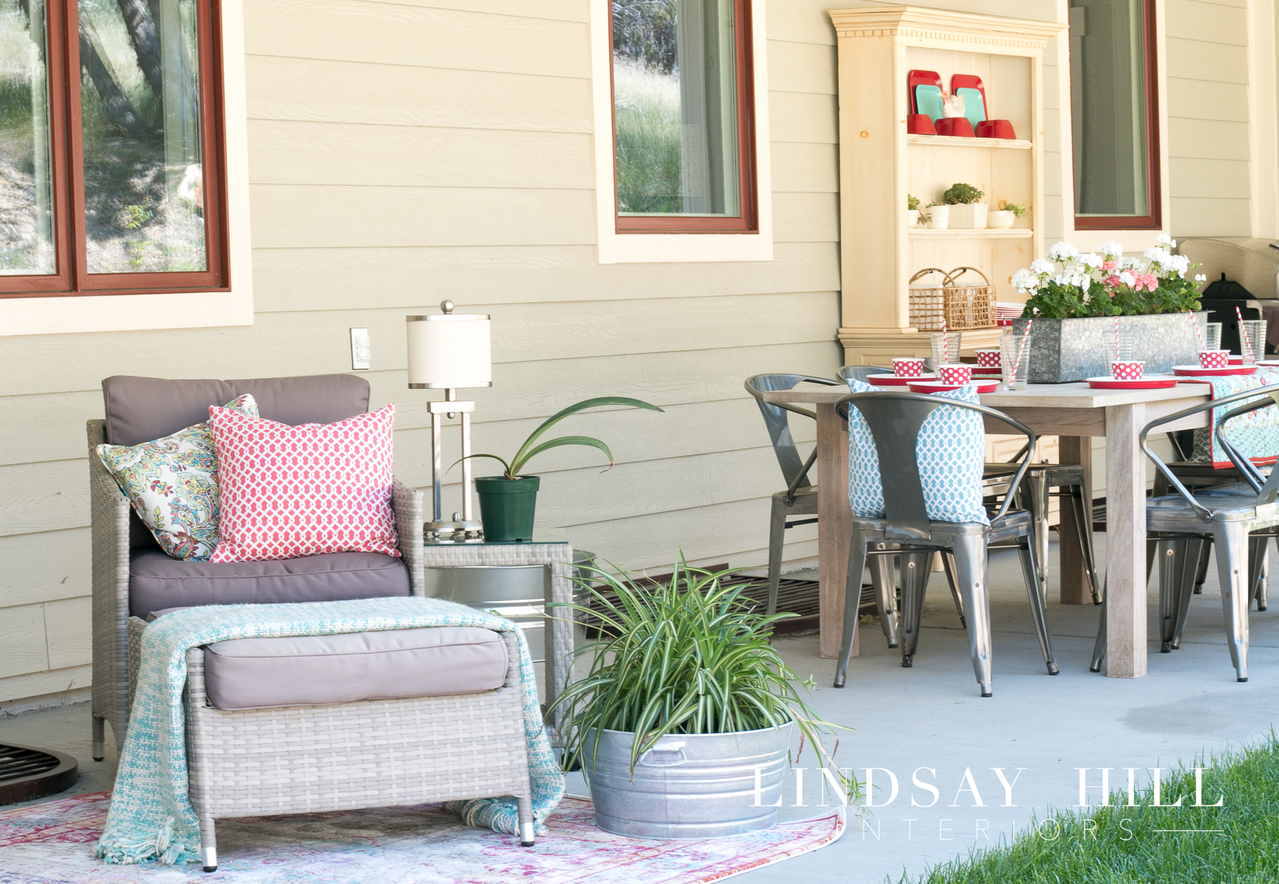 backyard patio ideas a giveaway lindsay hill interiors