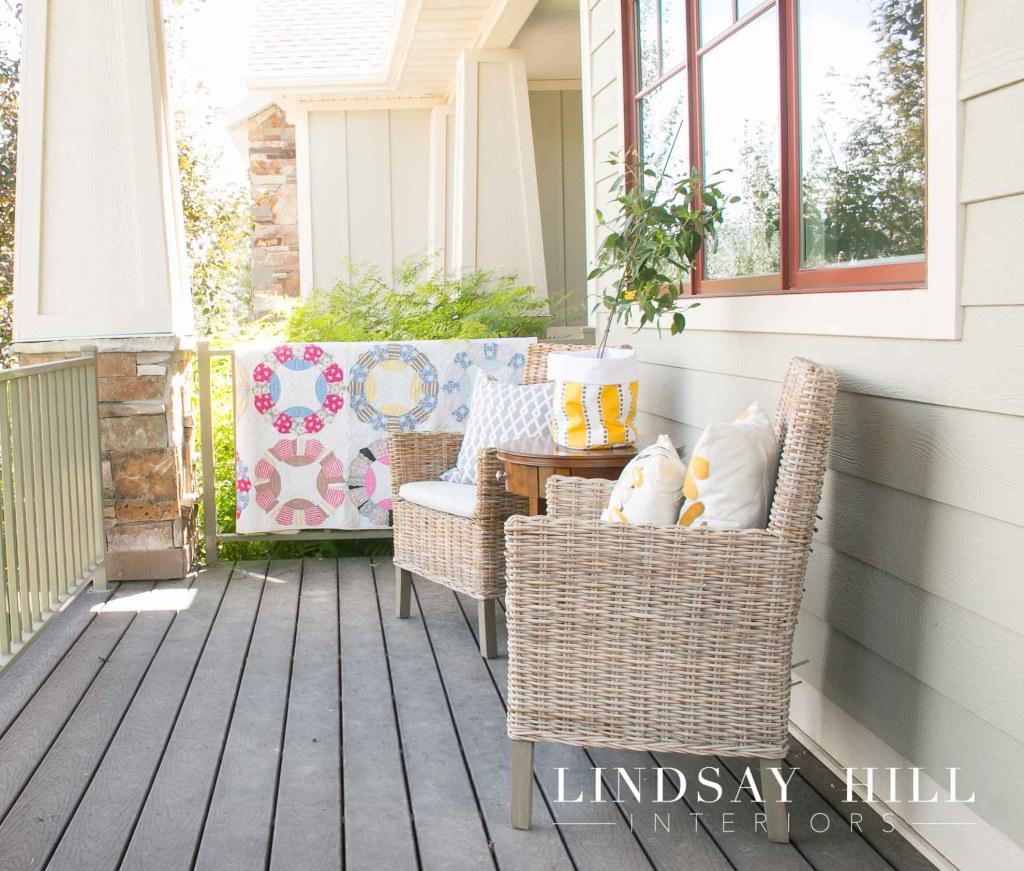 landscape post front porch