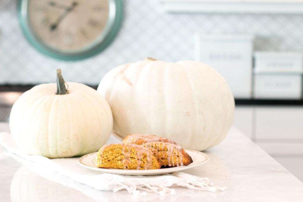fall pumpkin scone recipe