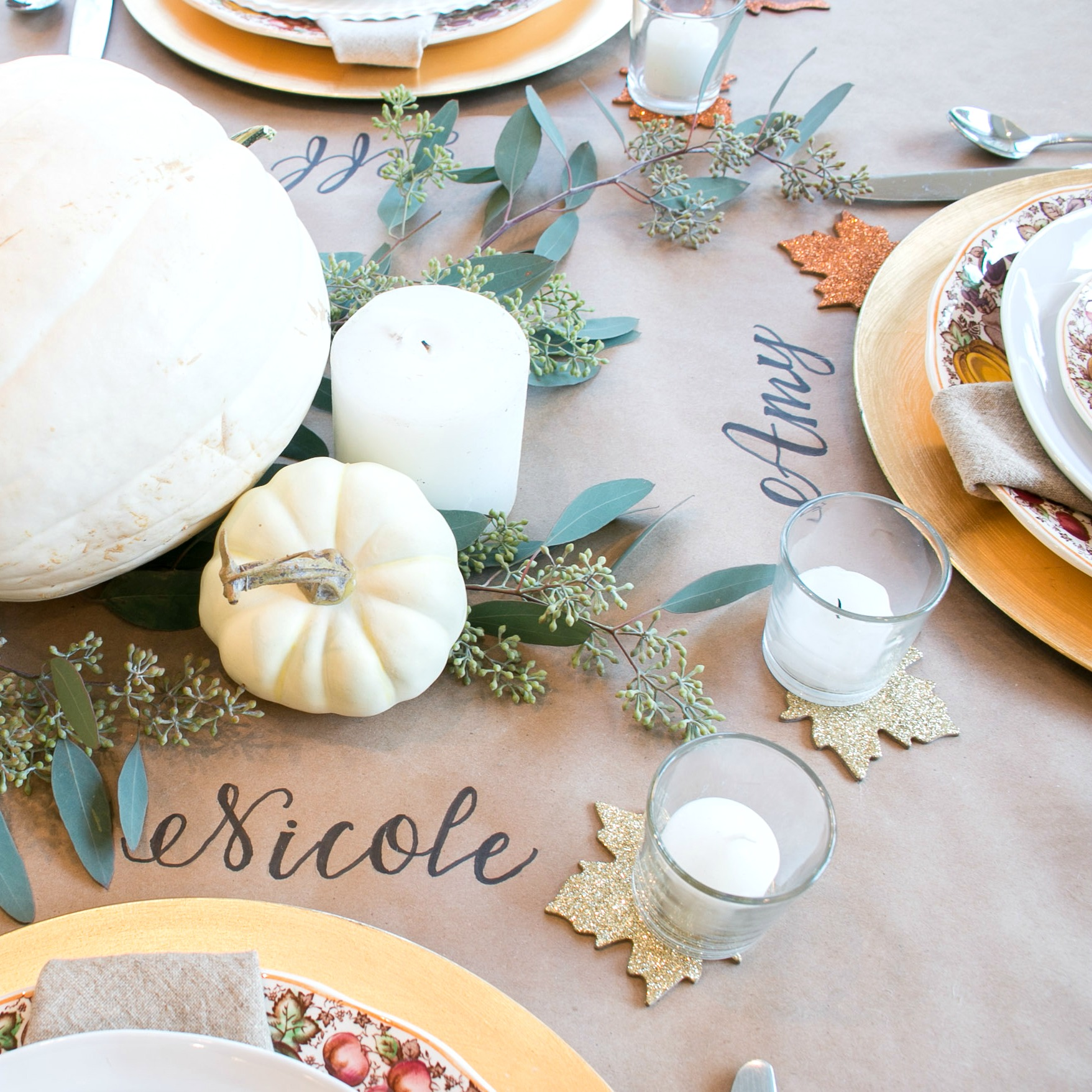 Thanksgiving table bounteous harvest & Five Ways to Set a Perfect Thanksgiving Table - Lindsay Hill Interiors