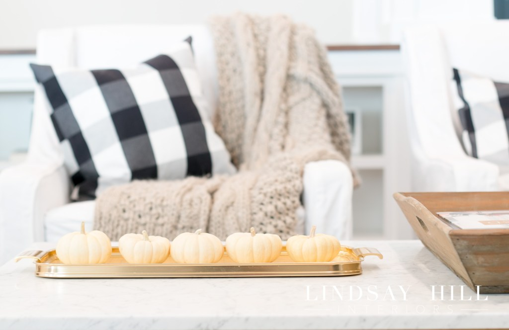 styling a coffee table for fall decorating tips