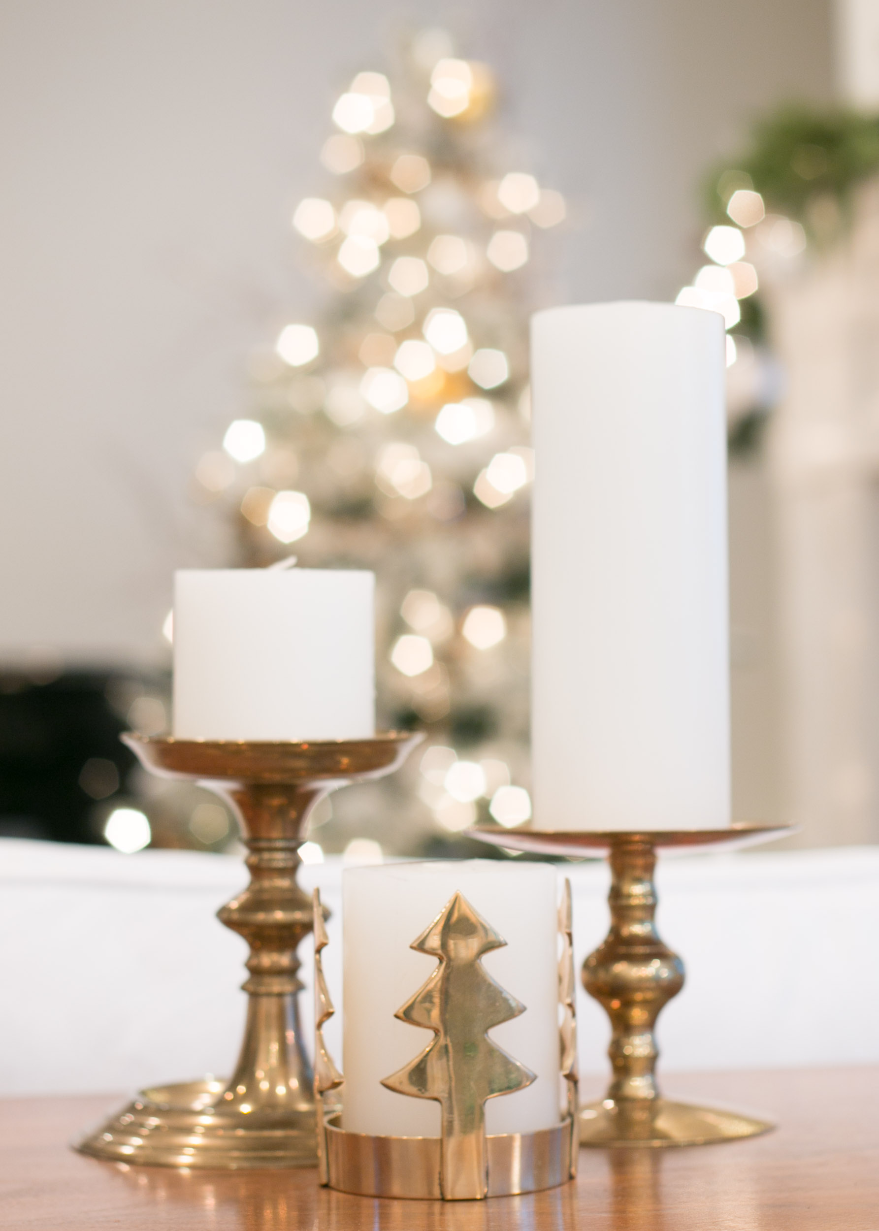 lindsay hill interiors deck the halls tour candles