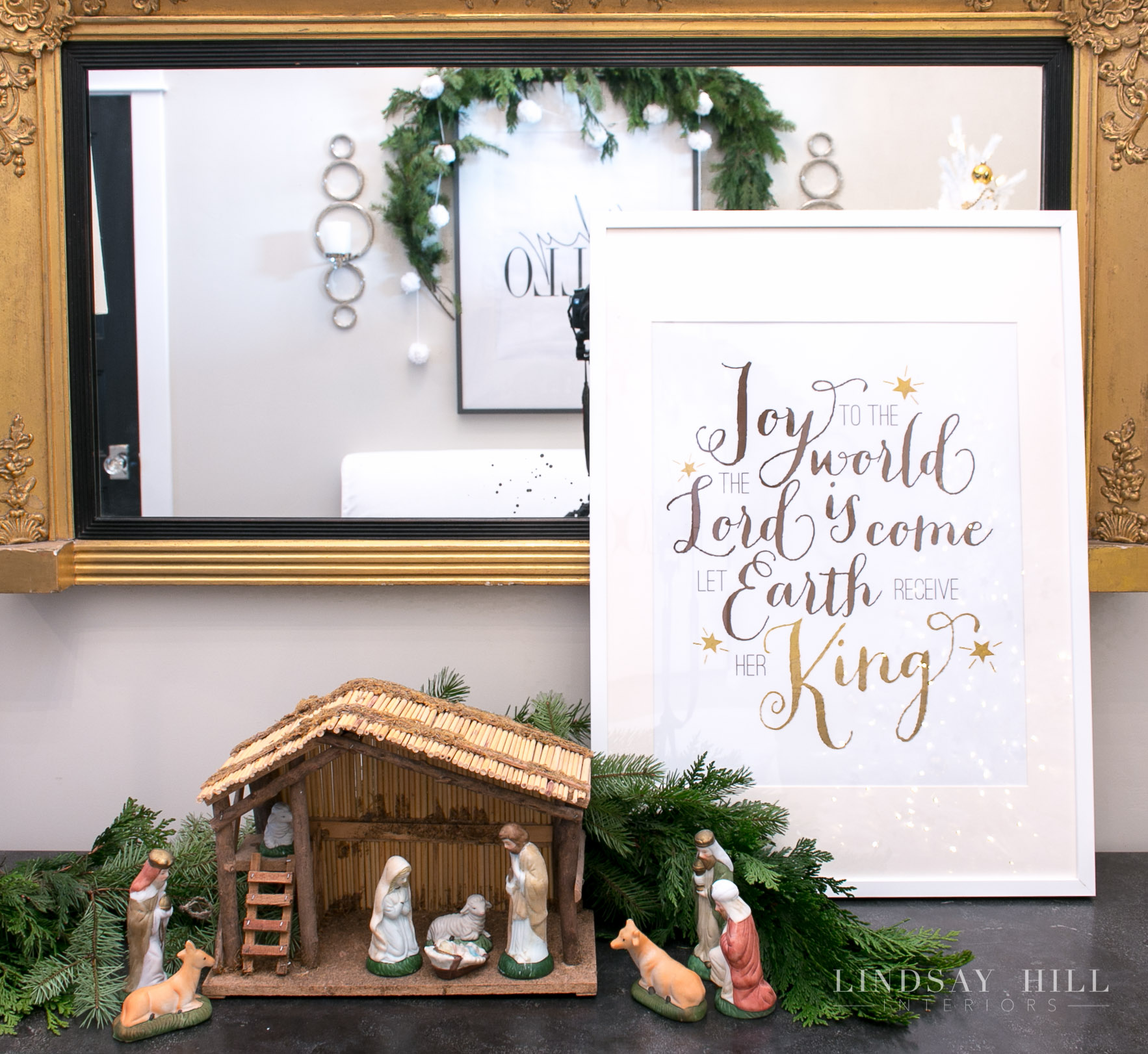 lindsay hill interiors nativity