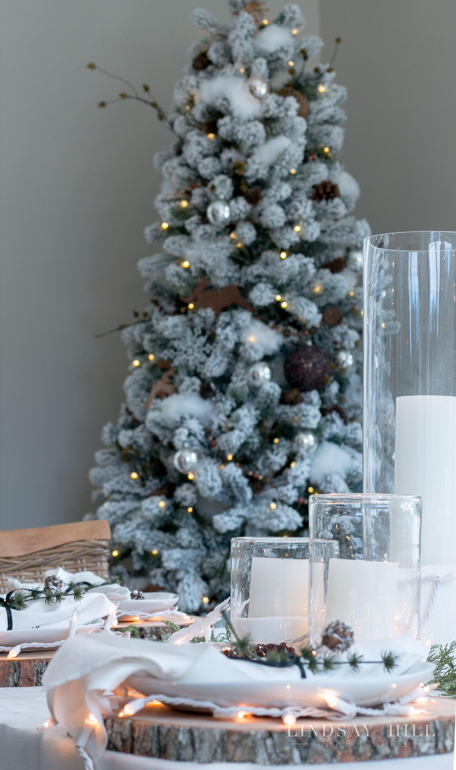 lindsay hill interiors dining room tree