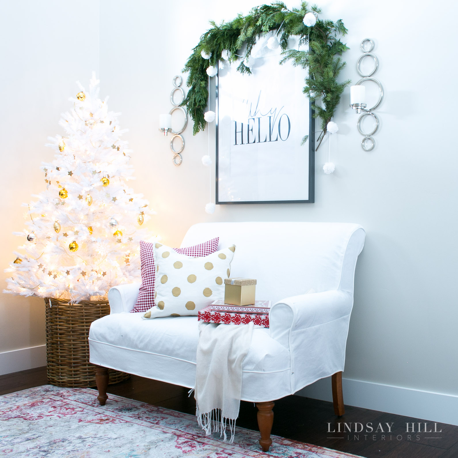 lindsay hill interiors holiday entry